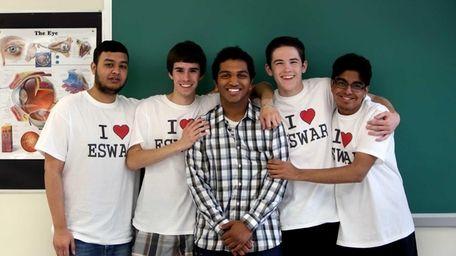 Eswar Dommaraju, of Hicksville High School, is an
