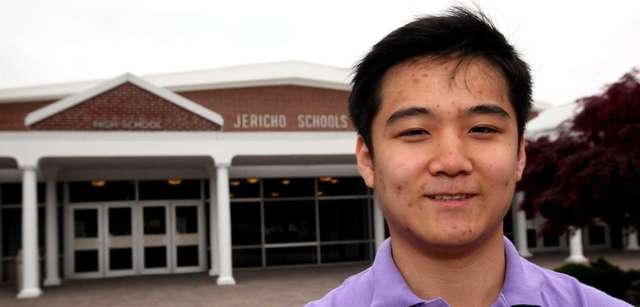 Tae Hoon Kim, Jericho High School, is an