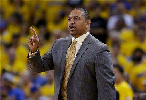 Former Golden State Warriors head coach Mark Jackson