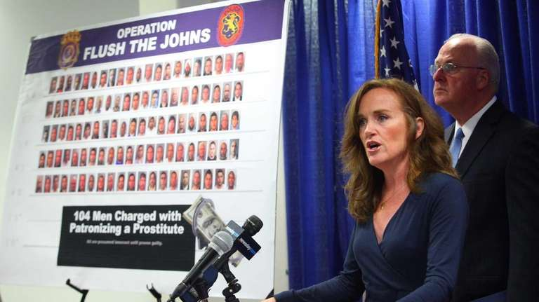 Nassau County District Attorney Kathleen Rice said most