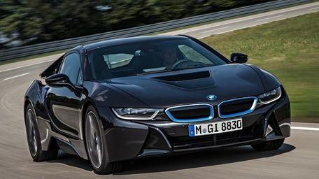 BMW introduced its i8 hybrid on June