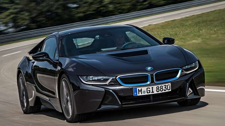 BMW introduced its i8 hybrid on June