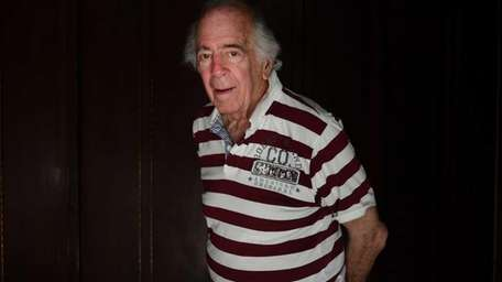 D-Day survivor Walter Blum at his home in