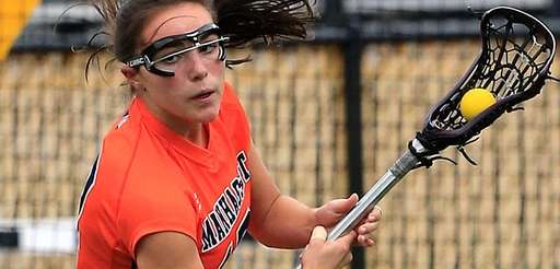 Manhasset defender Jacklyn D'Alleva