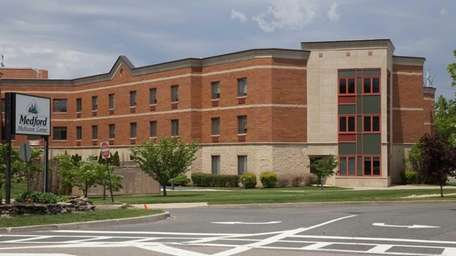 The exterior of the Medford Multicare Center for