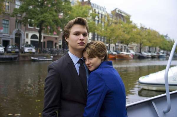 Ansel Elgort and Shailene Woodley appear in a