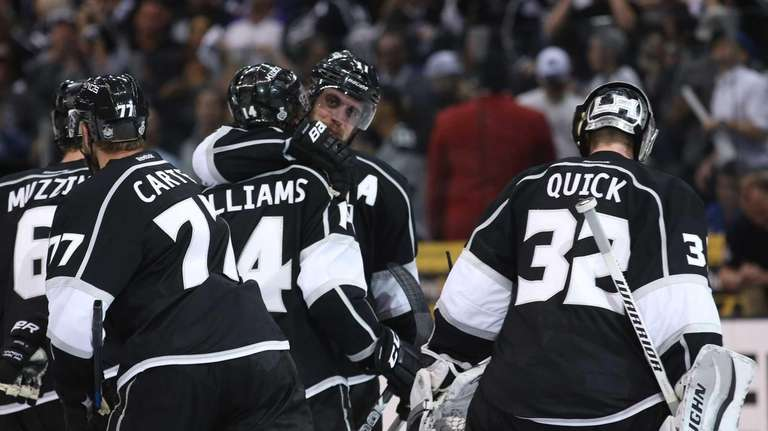 Justin Williams of the Los Angeles Kings and