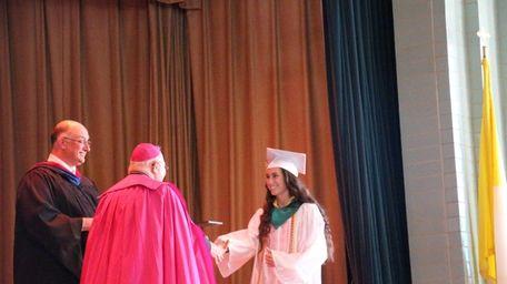 Delina Auciello was one of 96 graduates in