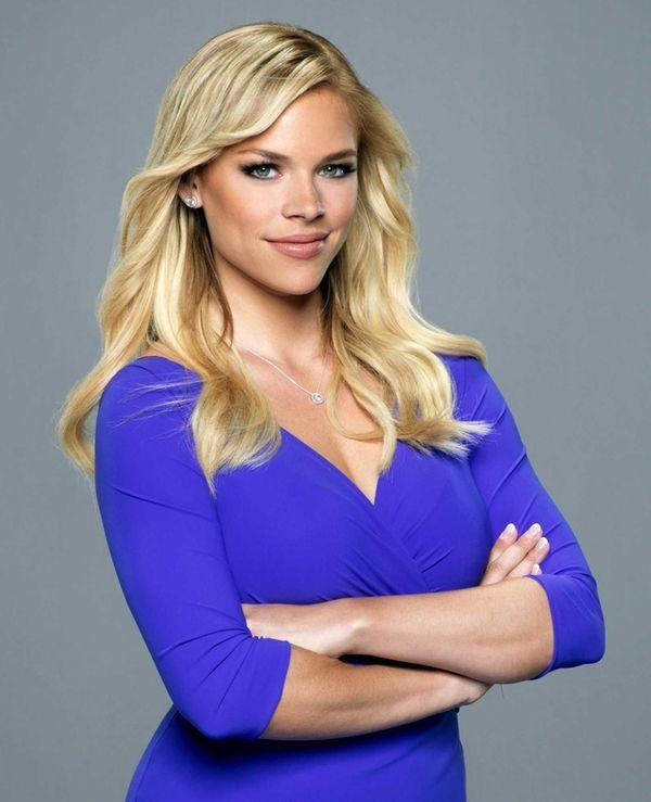 Fox sports reporter Julie Stewart-Binks