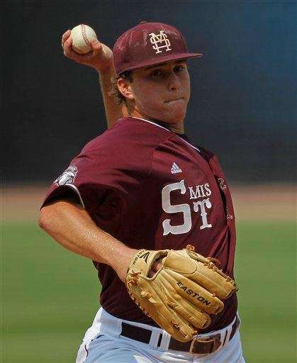 Jacob Lindgren was selected by the Yankees in