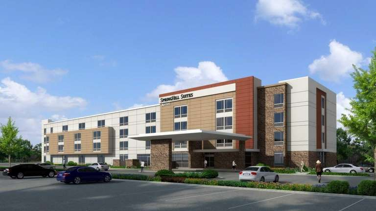 The proposed Spring Hill Suites by Marriott hotel