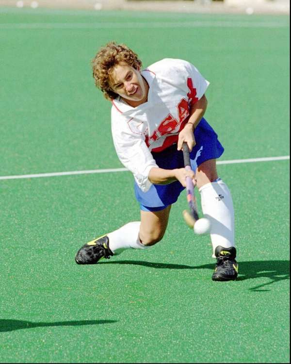 United States Olympic Field Hockey vice-captain Tracey Fuchs