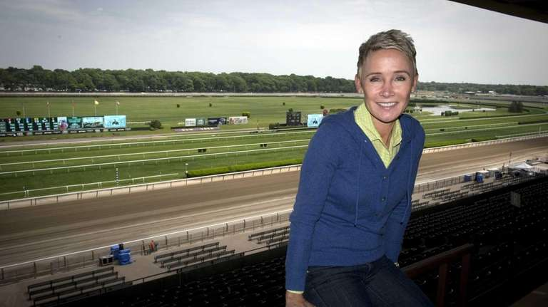 NBC Sports' Donna Barton Brothers at Belmont Park