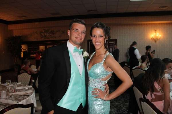 William Floyd High School prom dates Stephanie Giovine
