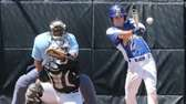 Mattituck's Joe Tardif makes contact in the second