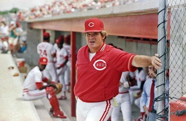 In this March 22, 1989 photo, then-Cincinnati Reds'
