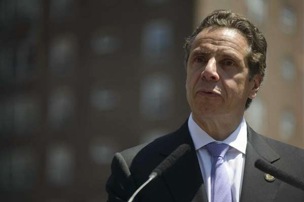 New York State Gov. Andrew M. Cuomo at