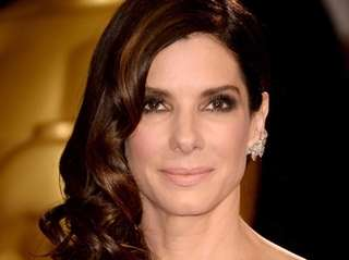 Sandra Bullock attends the Academy Awards in Hollywood,