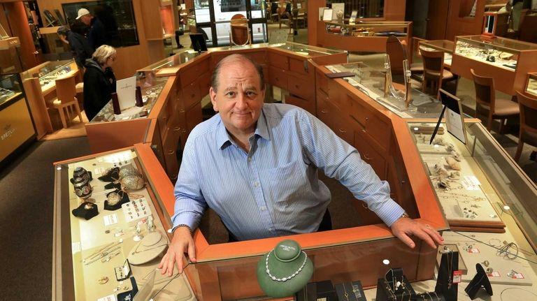 Eric Freedman, owner and president of Freedman Jewelers,