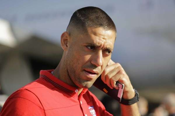 United States' national team soccer player Clint Dempsey