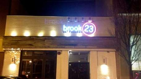 Brook 23 Bar and Kitchen is Lynbrook's newest