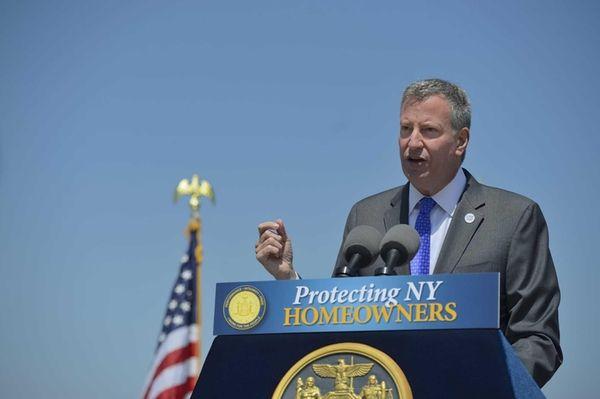 Mayor Bill de Blasio, Thursday, May 29, 2014.