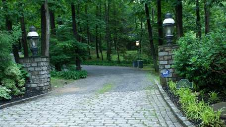 This is the driveway to the St. James