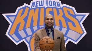 Derek Fisher poses for a picture during his