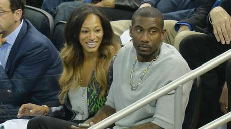 Knicks forward Amar'e Stoudemire and his wife, Alexis