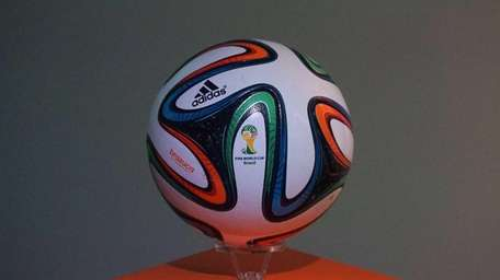 The Brazuca official 2014 FIFA World Cup ball