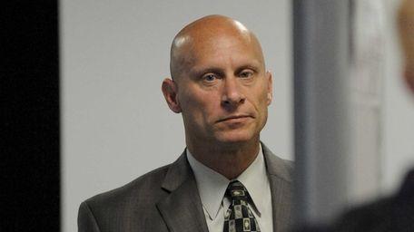 Scott Meyer, 48, of Seaford, at court in