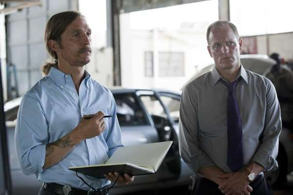 "Matthew McConaughey in ""True Detective"" Episode 7, on"