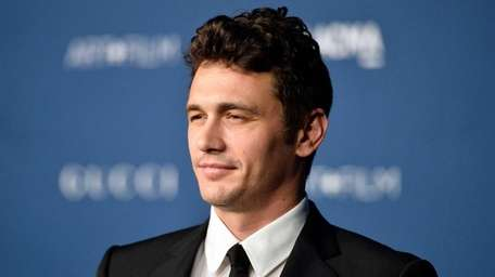 Actor James Franco arrives at the LACMA 2013