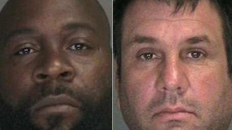 (L-R) Former part-time employee Jeorking Welker, 34, of