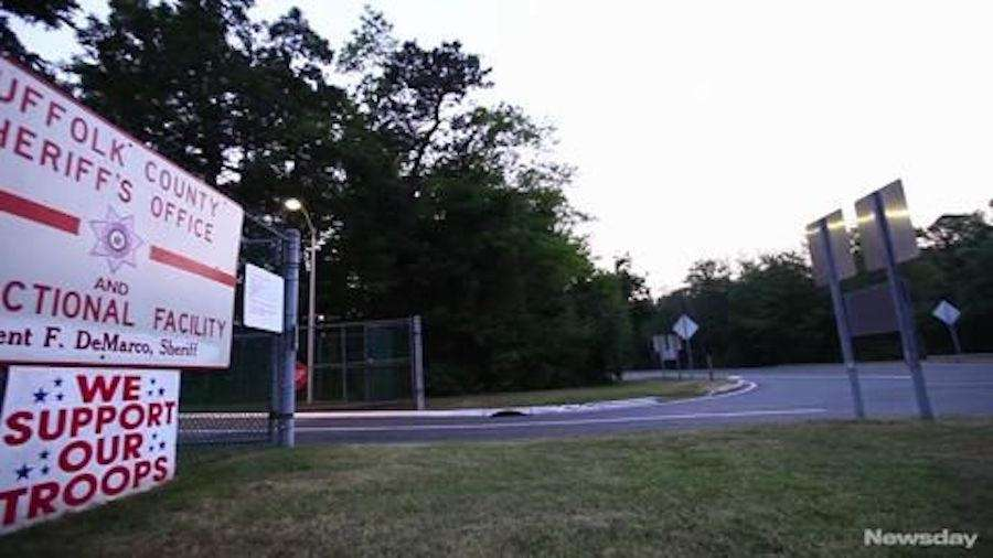 Suffolk County's jail facilities in Riverhead also had
