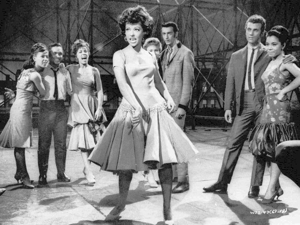 Rita Moreno won a supporting actress Oscar for
