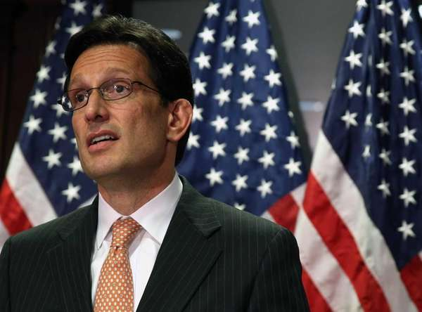 House Majority Leader Eric Cantor (R-Va.) during a
