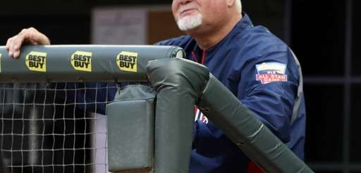 Minnesota Twins manager Ron Gardenhire smiles after an