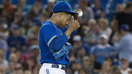 Toronto Blue Jays starting pitcher Marcus Stroman of