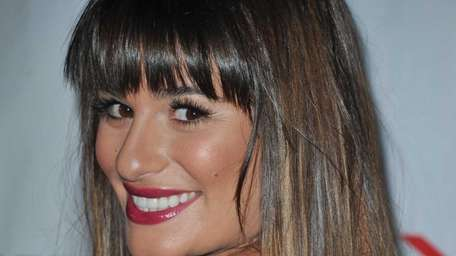 Lea Michele attends the Nylon and Sony X