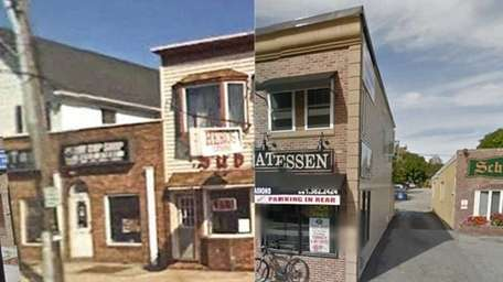 Smithtown before and after.
