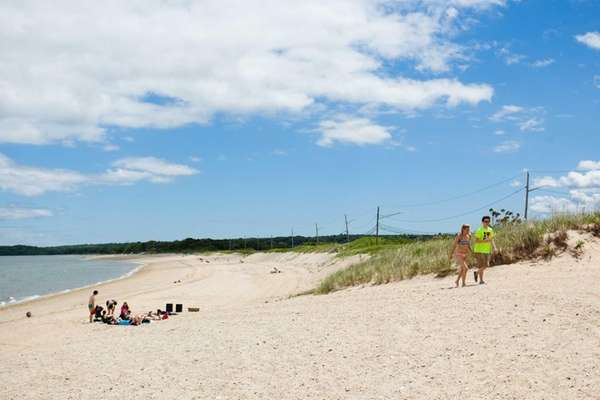 Long Beach in Nissequogue on June 6, 2014.