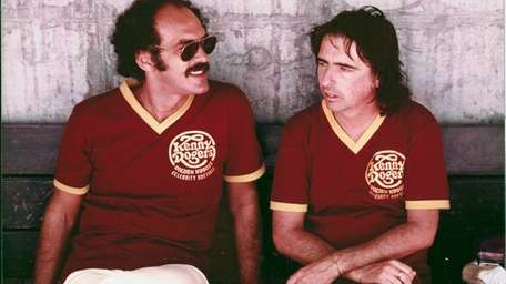 Shep Gordon, left, and Alice Cooper in an