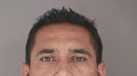 Carlos Parada-Hernandez, 45, of Hempstead, was arrested Tuesday,