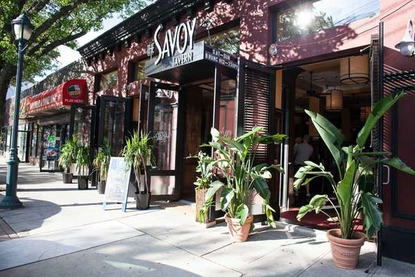 The Savoy Tavern, a restaurant that focuses on