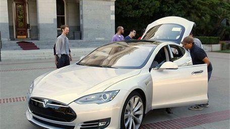 Tesla chief Elon Musk said June 12, 2014,