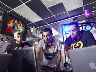 Spin DJ Academy instructors Dan Brass and Kenyon