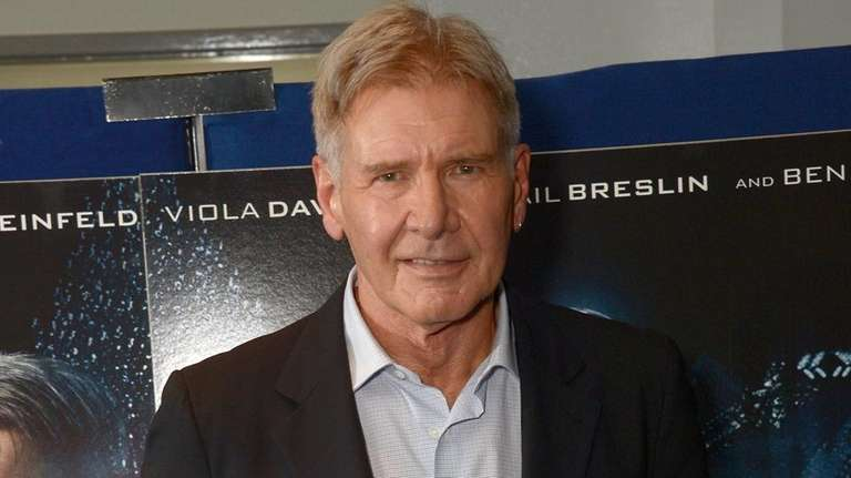 Harrison Ford in London on Oct. 7, 2013.