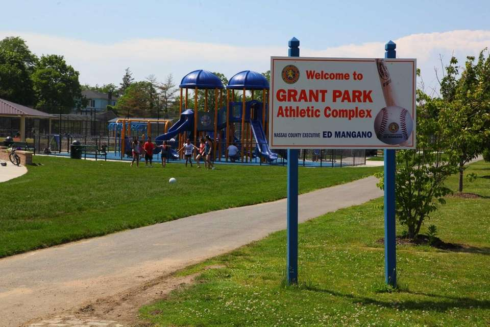Grant Park features three playgrounds based on different