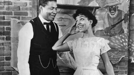 Ossie Davis and Ruby Dee in 1963's